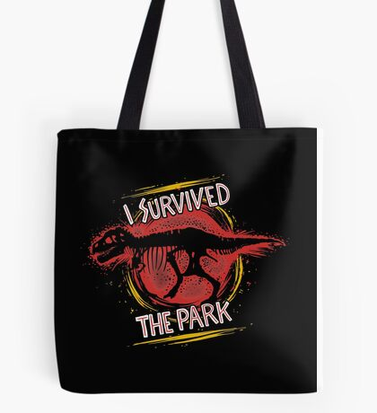 I survived the park Tote Bag
