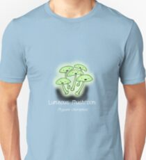 Luminous Mushroom (with smiley face) Unisex T-Shirt