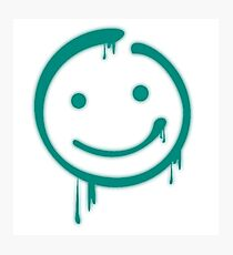 Moriarty Smiley Photographic Print
