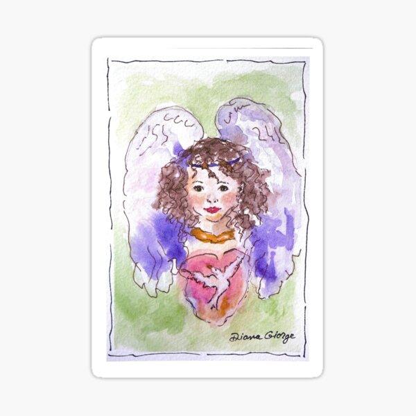 Angel of Peace Sticker