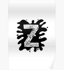 Zap Zed Poster
