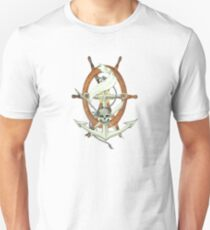 Anchor with skull T-Shirt