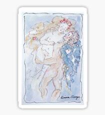 Angel of Love Sticker