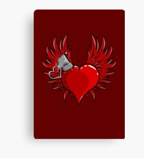 Heart Bomb Canvas Print