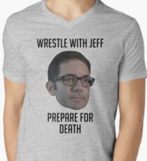 Wrestle With Jeff, Prepare For Death T-Shirt
