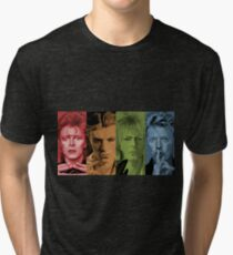 """Four Faces"" Tri-blend T-Shirt"
