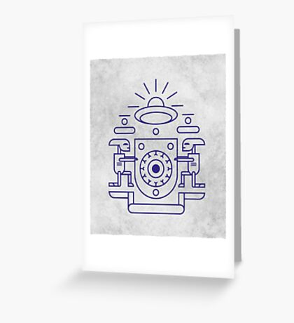 UFO Watchers Greeting Card