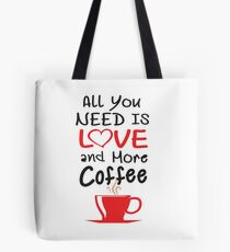 Coffee has not only inspired many artists but also took its place in their arts. Tote Bag