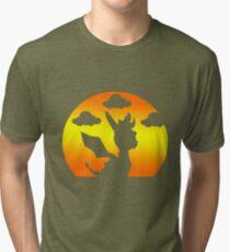 Sunset Spyro Tri-blend T-Shirt