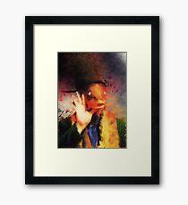 Captain Beefheart  Framed Print