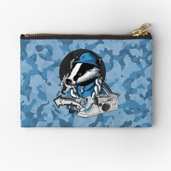 B-Boy Badger Zipper Pouch