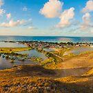 «Panorámica Gran Roque los roques Venezuela» de Org Bluewater