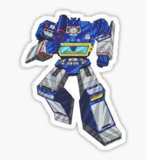Soundwave Transformers Sticker