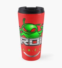Droidgamers Logo with text Travel Mug