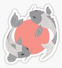 Koi fish pattern 001 Sticker