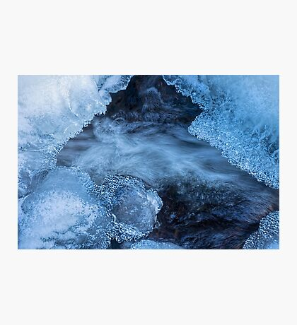 Icy River Photographic Print