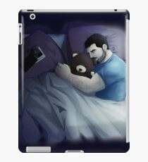 lonely with bear iPad Case/Skin