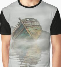 Wreck in the Mist  Graphic T-Shirt
