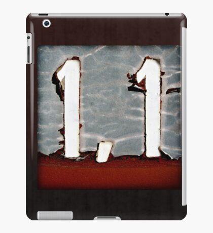 1,1 iPad Case/Skin