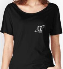 Crossing Zebras Grunge Logo Women's Relaxed Fit T-Shirt