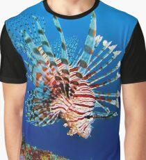 Lionfish at Apo Reef Graphic T-Shirt