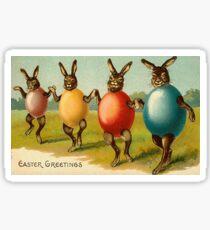 Easter greetings  Sticker