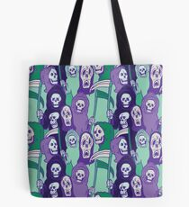Ghoul Stripes Tote Bag