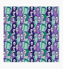 Ghoul Stripes Photographic Print