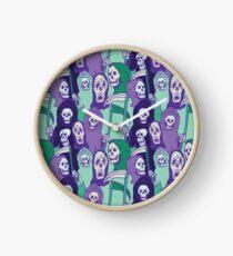 Ghoul Stripes Clock