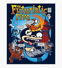 The Futuristic Five Photographic Print