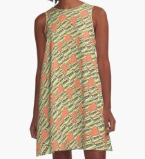 Skeeter Hotdog A-Line Dress