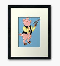 Ham Solo Framed Print