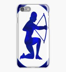 Indigo Archer Abstract Astrological Chakra Art iPhone Case/Skin