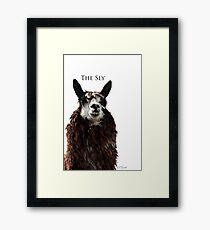 The Sly Framed Print