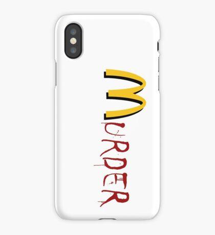 McMurder iPhone Case/Skin