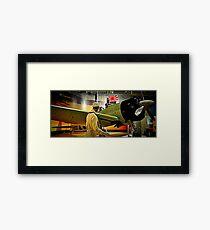 Sneak Attack Zero Framed Print