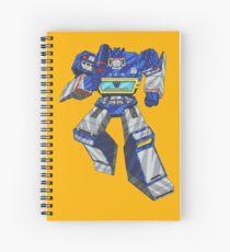 Soundwave Transformers Spiral Notebook