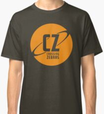 Crossing Zebras Orb Graphic Classic T-Shirt