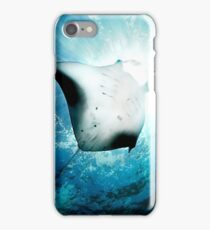 Sun Diver - Manta iPhone Case/Skin