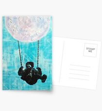 Puzzle Moon Swing Postcards