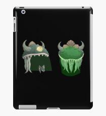Glitch Hats Lem mask iPad Case/Skin