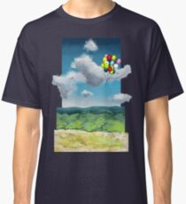 Balloons Over a Sky Classic T-Shirt