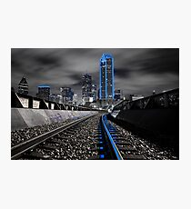 "Dallas ""Cowboys"" Skyline Photographic Print"
