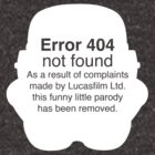 Error 404 by Schytso Designs