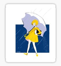 morton salt lady Sticker