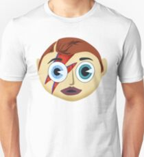 Screwed-Up Eyes And Screwed Down Hairdo T-Shirt