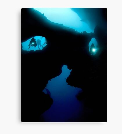 Cathedral at Pescador Island Canvas Print