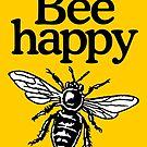 Bee Happy Beekeeper Design by theshirtshops