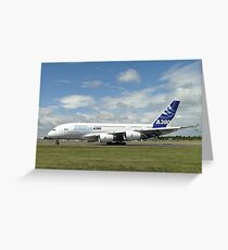 Airbus A380-861   F-WWDD Greeting Card