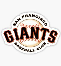 San Francisco Giants Baseball Club Sticker